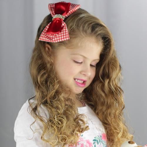 tiara-infantil-vermelho-xadrez