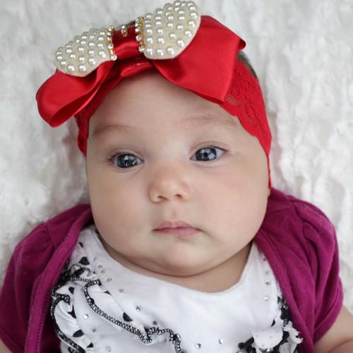 tiara-para-bebê-vermelha-com-laço