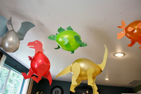 decoracao-com-baloes-festa-dinossauros