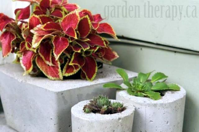 vasos-de-concreto-com-plantas