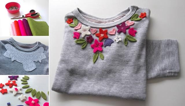 camisa-feminina-decorada-com-feltro