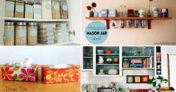 17 Truques Inteligentes Para Organizar Uma Cozinha Pequena