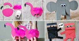 5 Projetos de Artesanato Para o Dia das Crianças Usando Papel