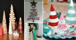 Ideias Brilhantes de Árvore de Natal Artesanal Pra Você Copiar