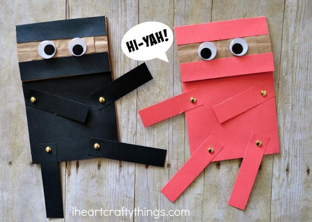 ninjas-com-sacos-de-papel