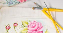 Aprenda quais são os Pincéis Para Pintura em Tecido Mais Usados