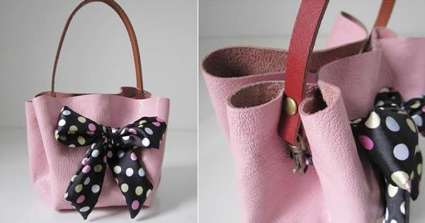 Bolsa De Tecido Passo A Passo Como Fazer : Como fazer bolsa de couro sem costura revista artesanato