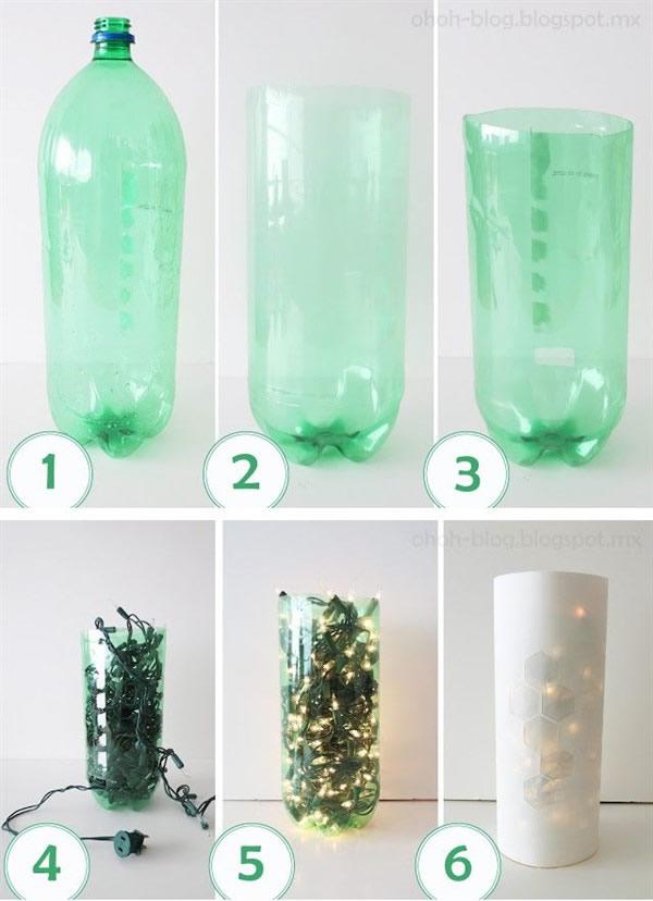 luminaria-de-garrafa-pet