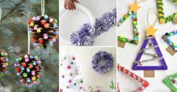 27 Enfeites de Natal Fáceis de Fazer em Casa