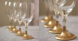 Como Decorar Taças de Vidro Para Festas
