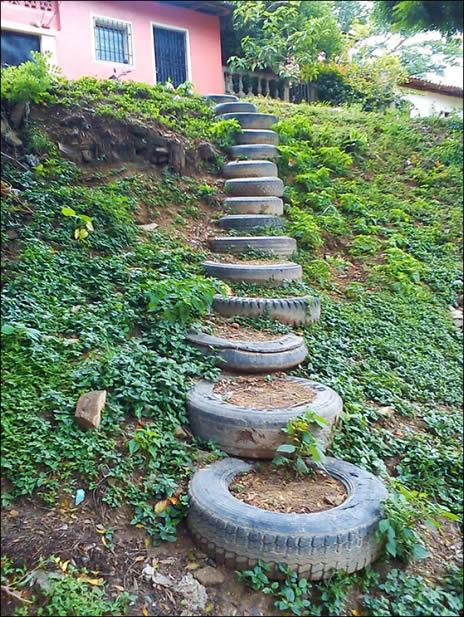 escada-de-pneu-para-jardim
