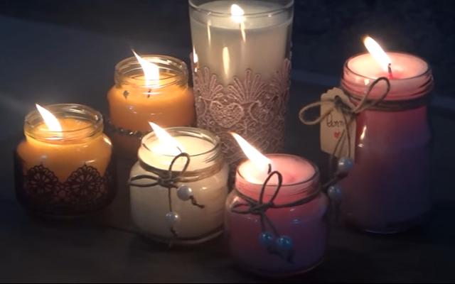 velas-decorativas-em-potes-reciclados