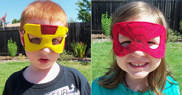 mascara-de-feltro-super-herois-menino-menina