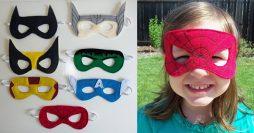 Como Fazer Máscaras de Super Heróis em Feltro