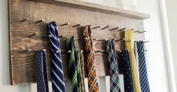 Como Fazer um Organizador de Gravatas