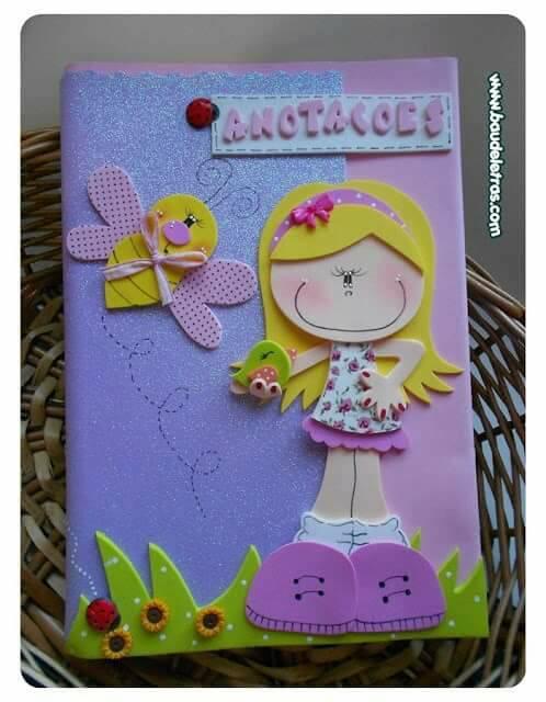capa-de-caderno-decorada-com-eva-menina
