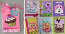 15 Modelos de Cadernos Decorados com EVA