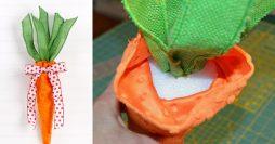 Como Fazer uma Cenoura de Páscoa – Passo a Passo