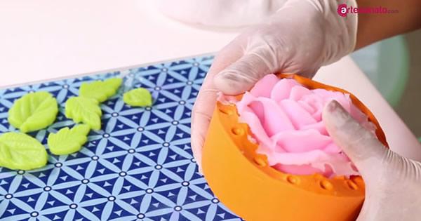 forma de silicone rosa do marrocos