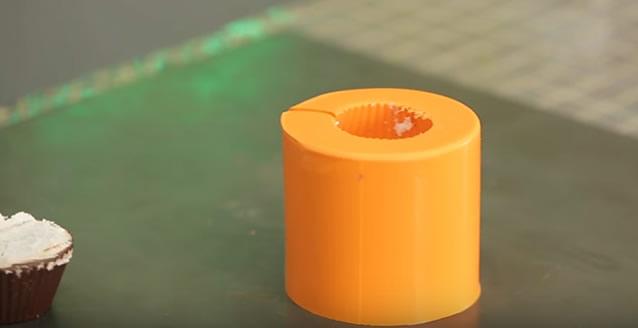 forma de silicone finalizada