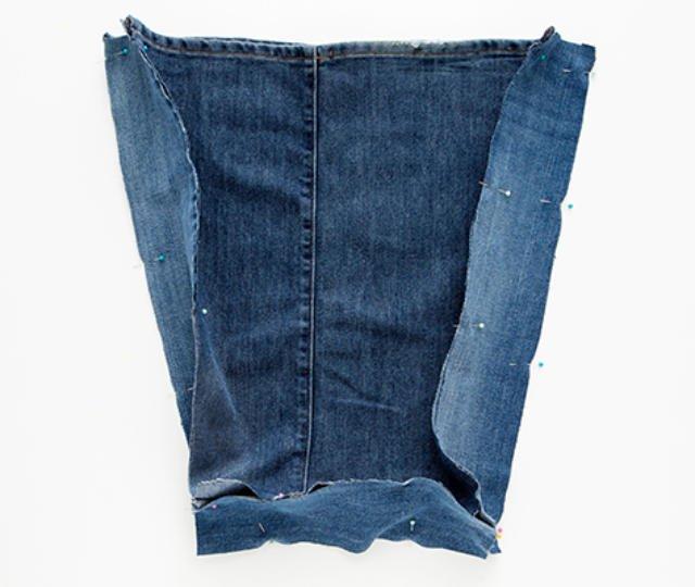 Como Fazer Uma Bolsa De Calça Jeans Linda E Fácil Revista