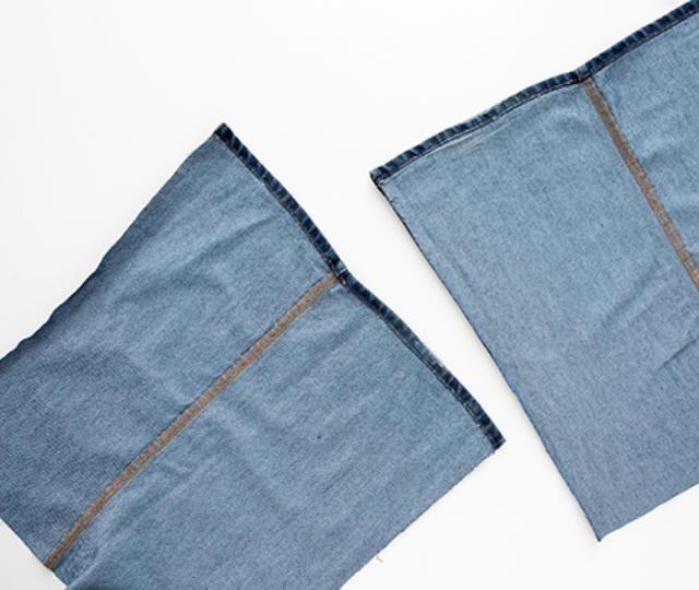Bolsa De Tecido Jeans Passo A Passo : Como fazer uma bolsa de cal?a jeans linda e f?cil