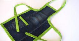 Descubra Como Fazer um Avental de Calça Jeans Incrível