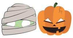 7 Máscaras de Halloween Para Imprimir
