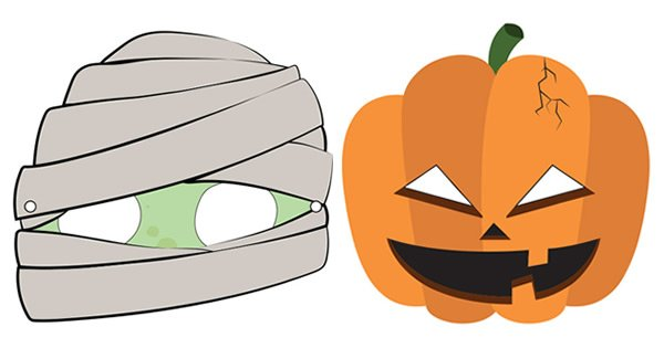 mascaras halloween para imprimir