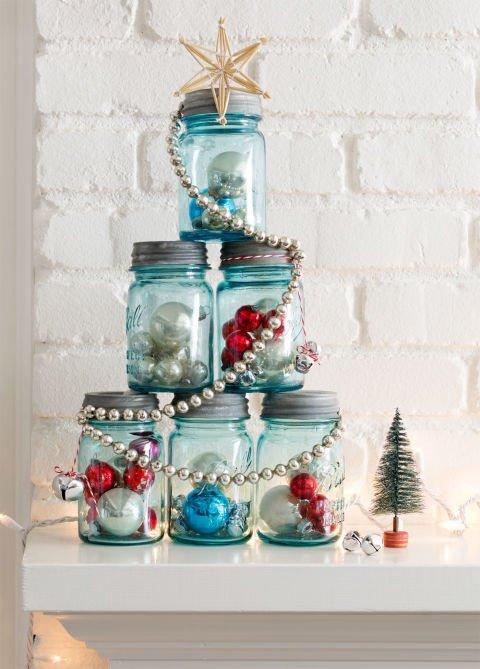 decoração de natal para a sala de estar