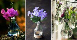 Transforme Lâmpadas em Vasos para Varanda – Passo a Passo