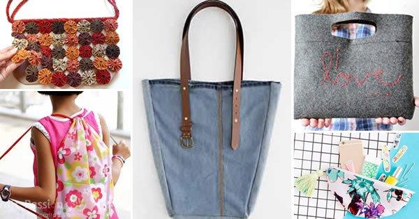 Bolsa De Tecido Passo A Passo Como Fazer : Como fazer bolsa de tecido modelos passo a