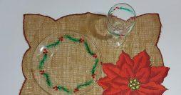 Como Pintar Pratos e Taças Para Usar no Natal