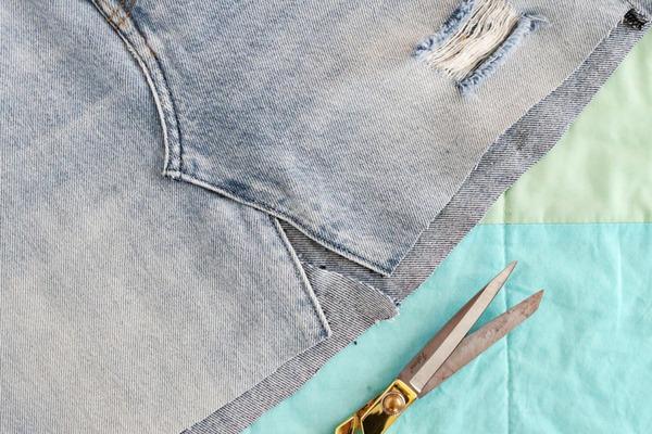Artesanato com Jeans - como fazer