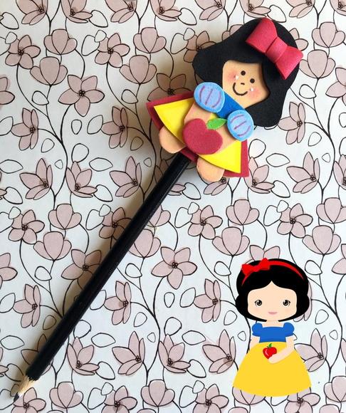 Ponteira de lápis da Branca de Neve