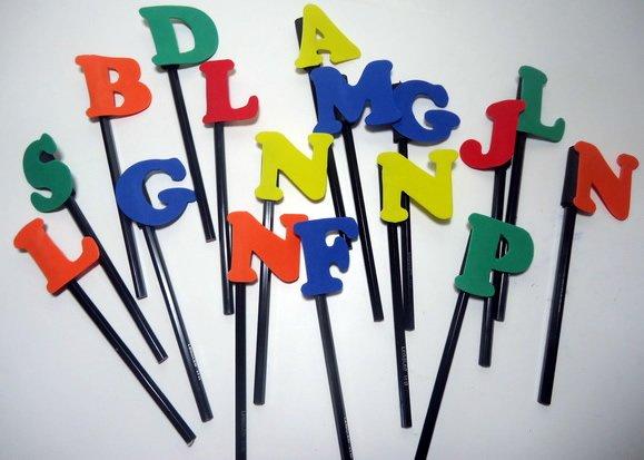 Ponteira alfabeto