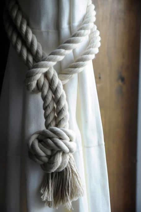 artesanato e decoração com corda