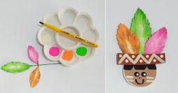 Lembrancinha Para o Dia do Índio: Ponteira de Lápis em EVA
