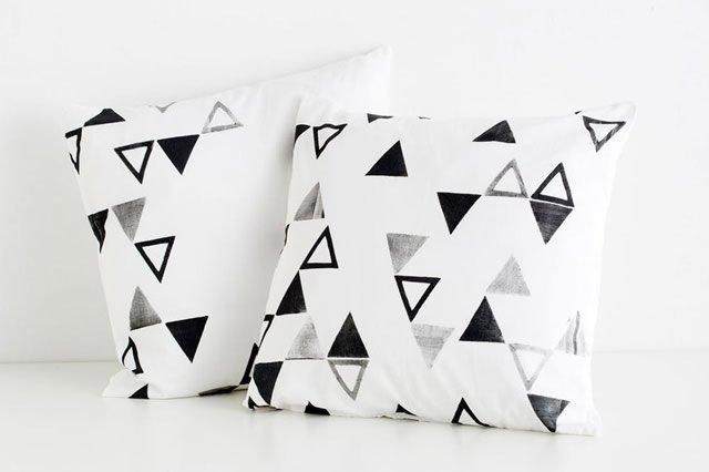 almofadas personalizadas com carimbo