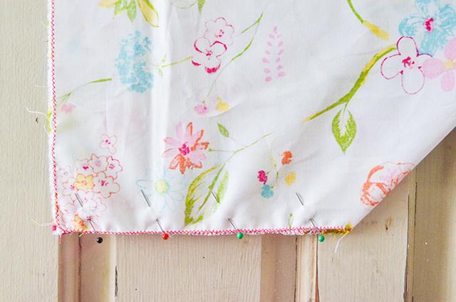 como fazer lençol de eslástico
