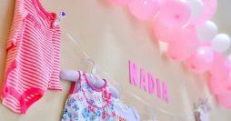 decoração para chá de bebê