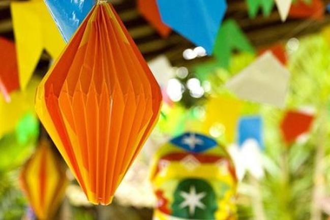 Decoraç u00e3o de Festa Junina 50 Ideias Incríveis Para se Inspirar Revista Artesanato -> Decoração Para Festa Xadrez