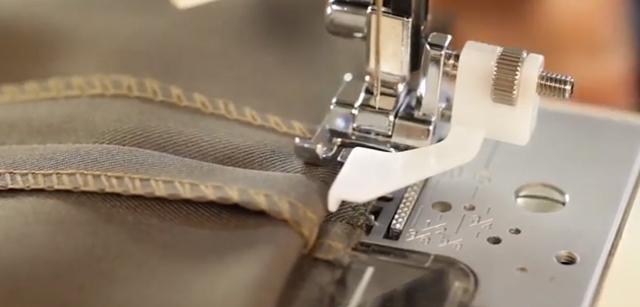 como fazer bainha invisível na máquia de costura