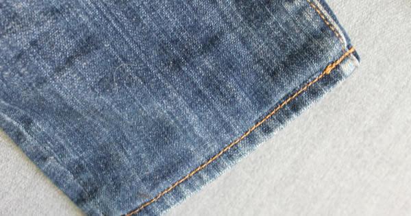 Como fazer barra original em calça jeans