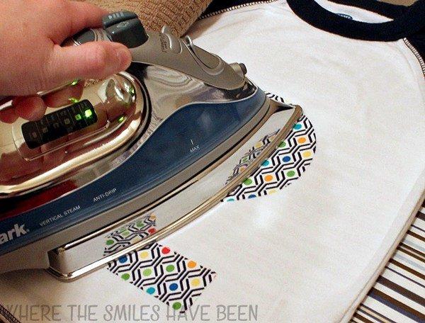 como colocar aplique de tecido
