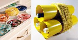 10 Ideias Geniais de Artesanato com Cano PVC Para Fazer em Casa