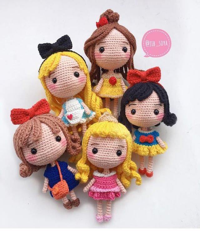 amigurumi princesas