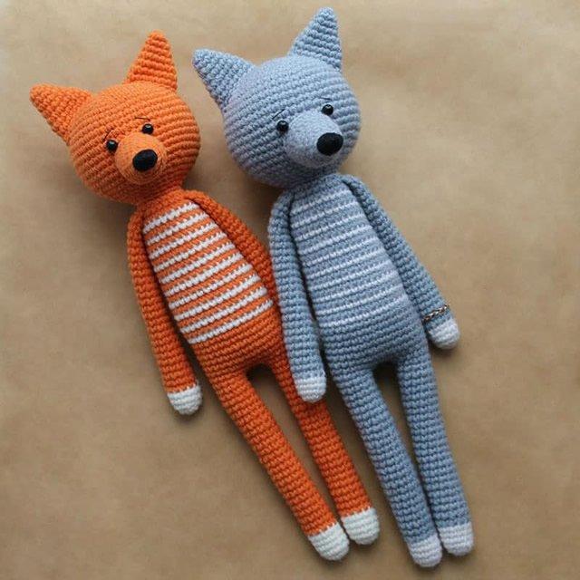 AMIGURUMI DE CROCHÊ - RAPOSINHA LISA no Elo7 | Madah Crocheteria ... | 640x640