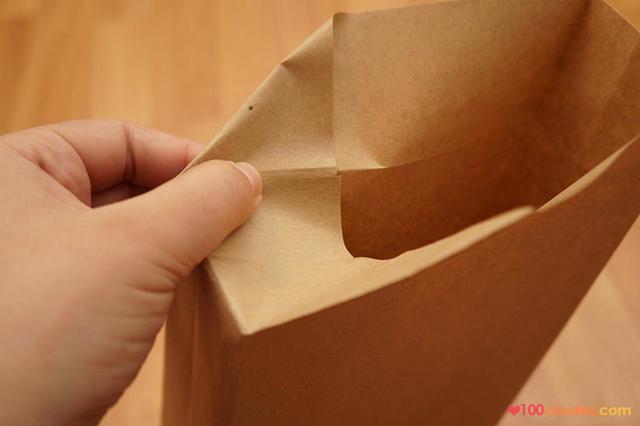 como fazer sacola de papel