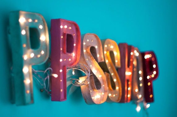 letras 3d para decorar
